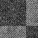 布のような質感のチェックのパターン