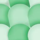 うろこ模様のパターン
