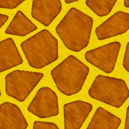 ジラフ柄のパターン