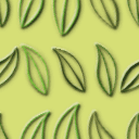 葉っぱがモチーフのパターン