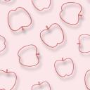リンゴを並べたパターン