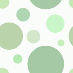 大小のドットからなるランダムなパターン