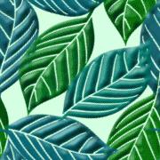 葉っぱモチーフのパターン