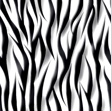 光沢感のあるゼブラ柄のパターン