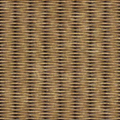編みかご風のパターン