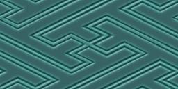 紗綾形文様のパターン