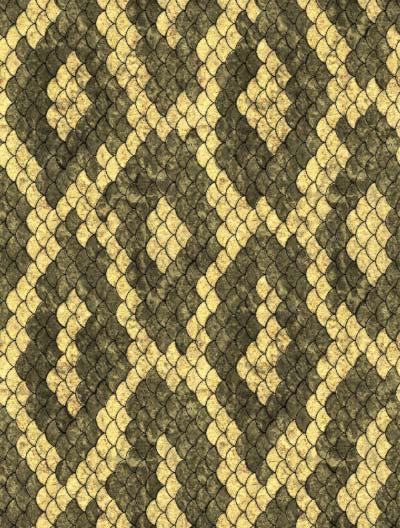 ヘビ柄風のパターン