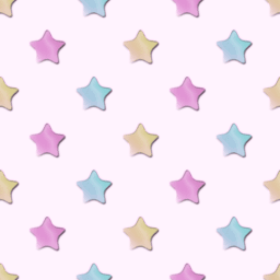 カラフルな星のパターン