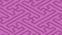 ラフな紗綾形文様のパターン