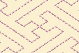 縫い目風の紗綾形文様パターン