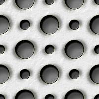 パンチングメタルのパターン