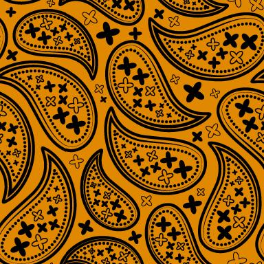 ペイズリー柄のパターン