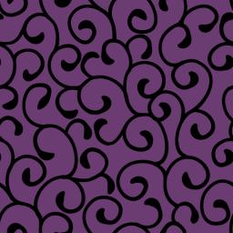 唐草模様風のパターン