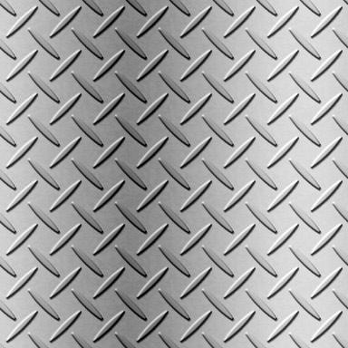 滑り止め付き鉄板のパターン