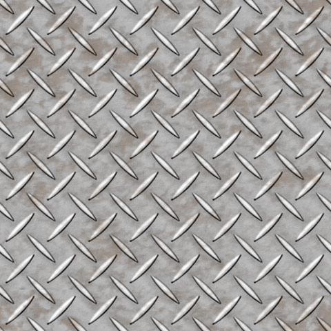 汚れた感じの滑り止め付き鉄板のパターン