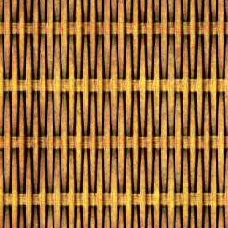 編みかごのパターン