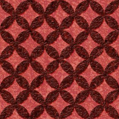 ざらざらした感じのグランジな七宝文様パターン