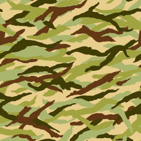 迷彩柄のパターン
