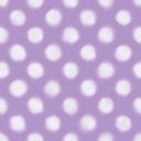 ラフな感じの水玉パターン