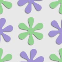アスタリスクをモチーフにしたポップなパターン
