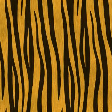 トラ柄のパターン