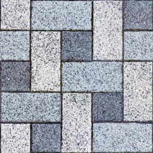 写真をから作ったタイル張りの地面のパターン