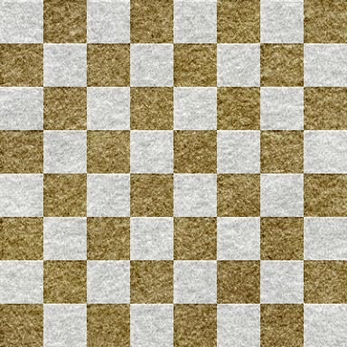 ざらざらした紙の質感がある市松模様のパターン