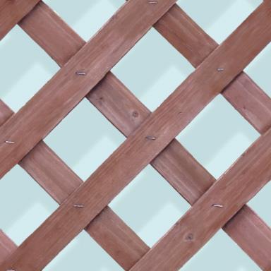 写真から作った木製のラティスのパターン