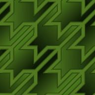 千鳥模様のパターン