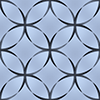 七宝文様のパターン