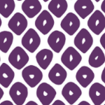 鹿の子模様のパターン