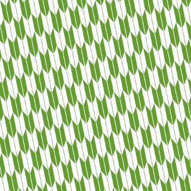 少し斜めに傾いた矢絣文様のパターン