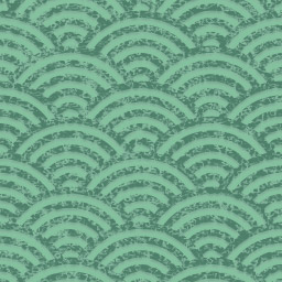 グランジな青海波のパターン