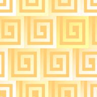 四角いうずを敷き詰めたパターン
