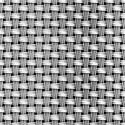 金属風のメッシュパターン