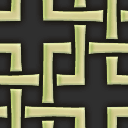 角繋ぎ文様のパターン