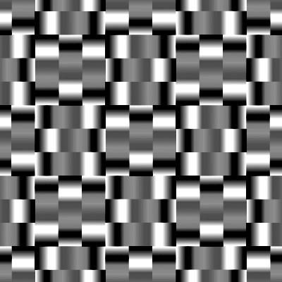 メタリックなパターン
