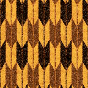 ざらざらした質感の矢絣模様のパターン
