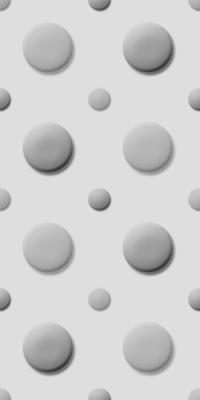 立体的なドットパターン