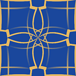 幾何学模様のパターン